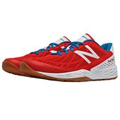 New Balance Fresh Foam 80V3 Trainer Sport Shoes Red and White