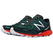 New Balance 910 V3 Trail Gore Tex Sport Shoes Dark Green Red and Black