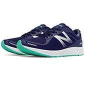 New Balance Fresh Foam Zante V2 Sport Shoes White and Navy
