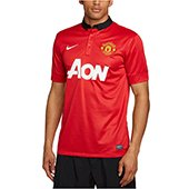 Nike Manchester United Short Sleeve Home Replica Jersey