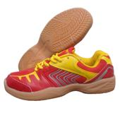 NIVIA HY Court Red and yellow Badminton Shoe
