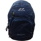 Nivia 5185 NB Casual Backpack Navy Blue
