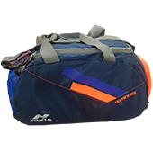 Nivia Dominator 5184 Casual Backpack Blue and Orange