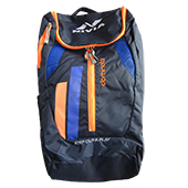Nivia Dominator Bag Pack Blue Orange