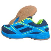 Nivia super Court Badminton Shoe Lime and Blue
