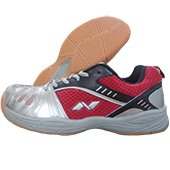 Nivia Appeal Court Badminton Shoe Red and Black