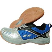 Nivia Appeal Court Badminton Shoe Blue and Black