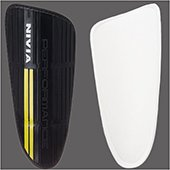 Nivia Performance Football Shin Guard Large Black
