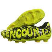 NIVIA Encounter Football Shoes Yellow and Black