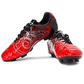 NIVIA Radar Football Shoes Black and Red