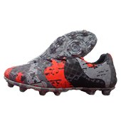 NIVIA Radar Football Shoes Grey and Red
