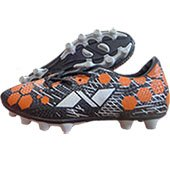 NIVIA Ultra Football Stud Shoes Black and Orange