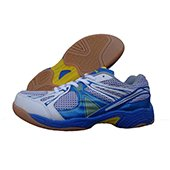 NIVIA Krait Badminton Shoes Blue and White