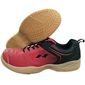 NIVIA New HY Court Badminton Shoes Red and Black