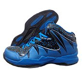 Nivia Warrior I Basketball Shoe Blue and Black