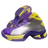 Nivia Warrior Basketball shoe Yellow and Blue