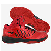 Nivia Warrior I Basketball Shoe Red and Black