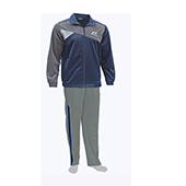 Nivia Supper Poly Tracksuit Blue and Gray 2404 Medium