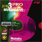 Nittaku Hurricane Pro 3 Table Tennis Rubber