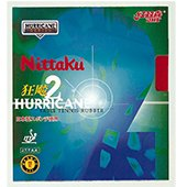 Nittaku Hurricane 2 Table Tennis Rubber