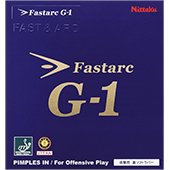 Nittaku Fastarc G 1 Table Tennis Rubber