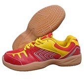 NIVIA HY Court Volleyball Shoes Red and yellow