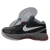 Nike The Overplay Basket Ball Shoe Gray White and Black