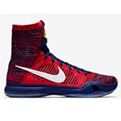 Nike Kobe X Elite Basket Ball Shoe Red and Blue