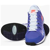 Nike Zoom Vapor 9.5 Tour Purple Tennis Shoes