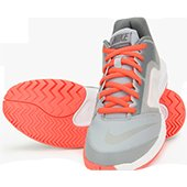 Nike Ballistec Advantage Gray Tennis Shoes