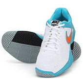 Nike Air Cage Court White Tennis Shoes