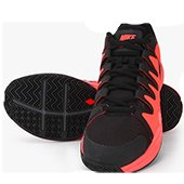 Nike Zoom Vapor 9.5 Tour Black Tennis Shoes