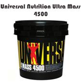 Universal Nutrition Ultra Mass 4500 Chocolate Mass Gainers 9 point 3 lbs
