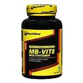 MuscleBlaze MB VITE Multivitamin Unflavoured 60 tablets