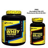 MuscleBlaze Whey Protein 2.2lbs Rich Chocolate