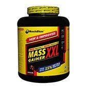 MuscleBlaze Mass Gainer XXL Chocolate 3kg 6.6 lbs
