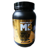 MuscleBlaze Whey Gold Rich Milk Chocolate 2.2 lbs