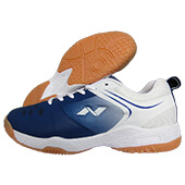 NIVIA HY Court 2 Badminton Shoes Blue and White