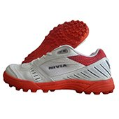 NIVIA Caribbean Cricket Stud Shoes Red and White