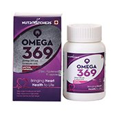 Nutriwatchers Q Omega 369 90 Softgel Capsules