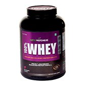 Nutriwatchers 100 Percent Whey Protein Stawberry 4.4 Lbs