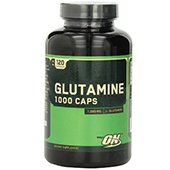 Optimum Nutrition Glutamine 1000mg, 120 Capsules