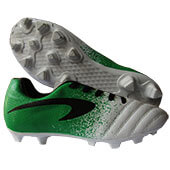 ProAse Endura Football Shoes White Green