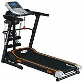 Powermax Fitness TDM 125 Motorized Treadmill 2.00 HP