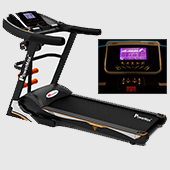 Powermax Fitness TAC 535 Semi Commercial Motorized AC Treadmill Touch Key