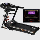 Powermax Fitness TDA 535 Motorized Treadmill Touch Key