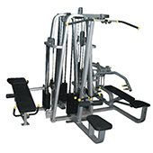 POWERMAX FITNESS MC 400 Multi Gym 4 Station Commercial Multigym