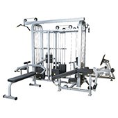 POWERMAX FITNESS MC 600 Multi Gym 6 Station Commercial Multigym