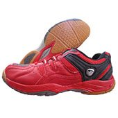 PRO ASE Court Badminton Shoe Red and Black