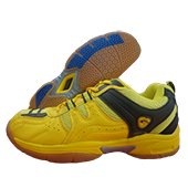 PRO ASE Court Badminton Shoe Yellow and Black